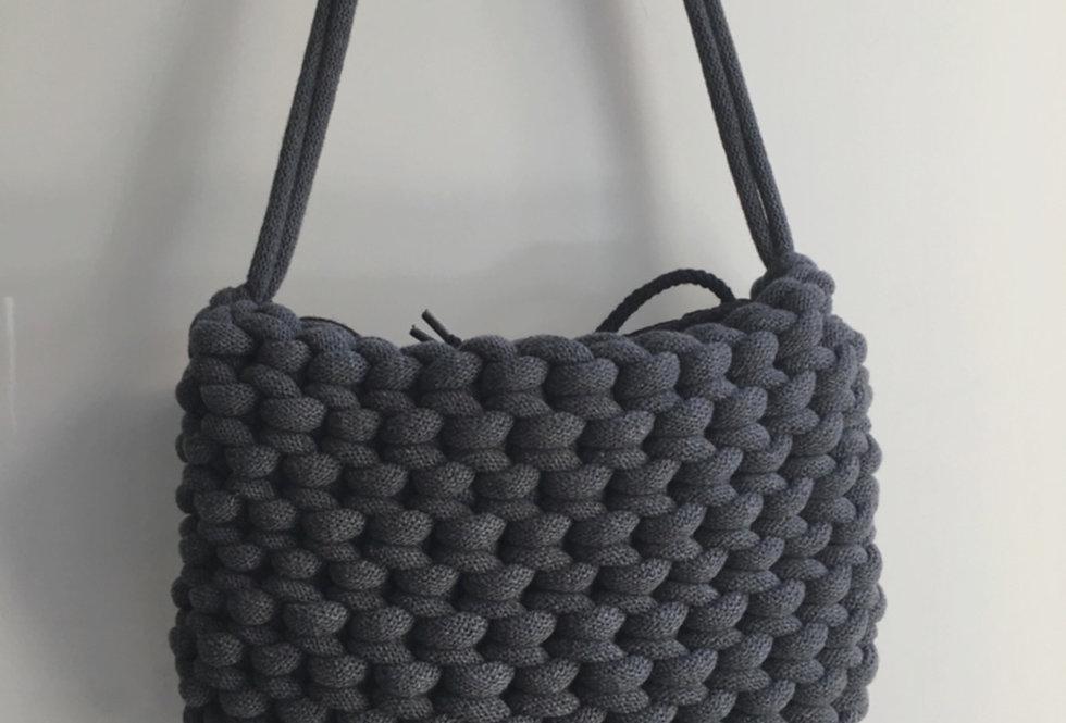 Charcoal Grey Shoulder Bag