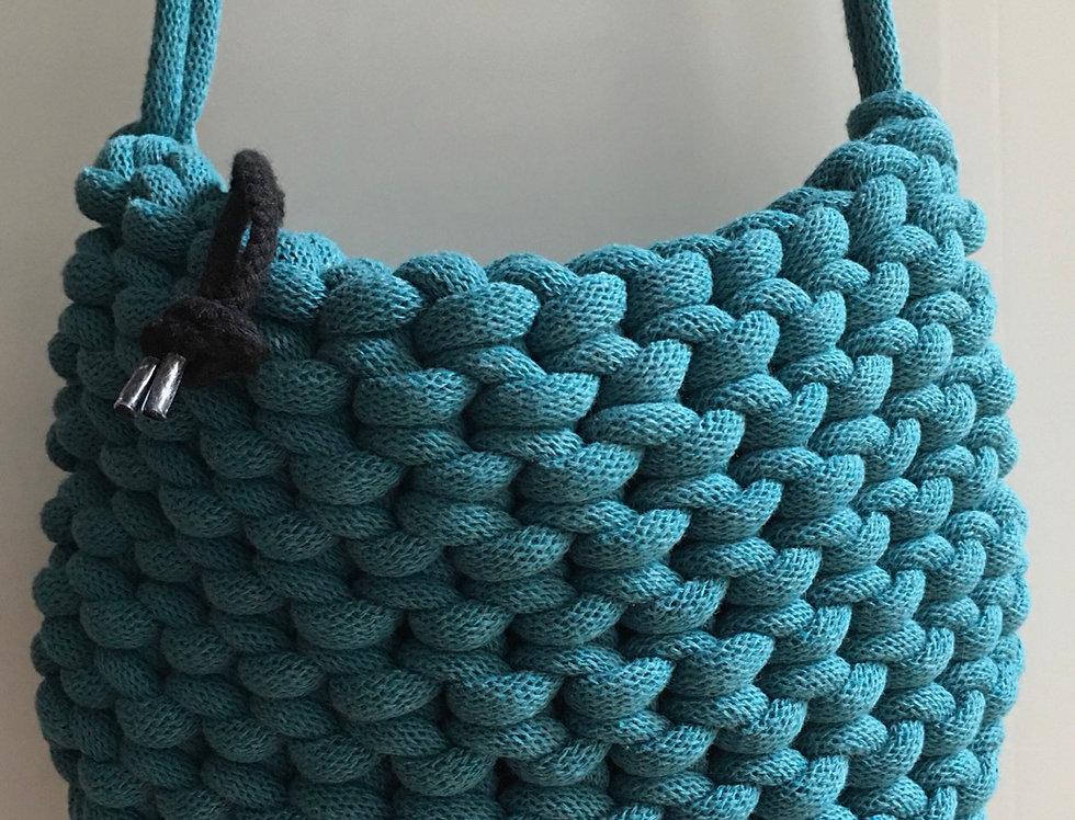 Teal Blue Shoulder Bag