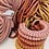 Thumbnail: Terracotta Knotted Cotton Cord Necklace