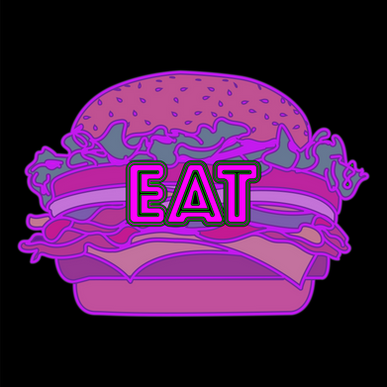 burger joint logo/sign