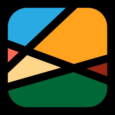 retro logo style