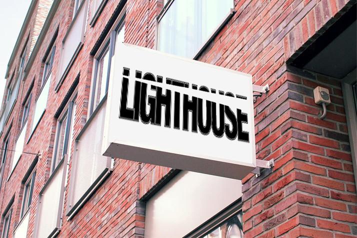 lighthouse mockup