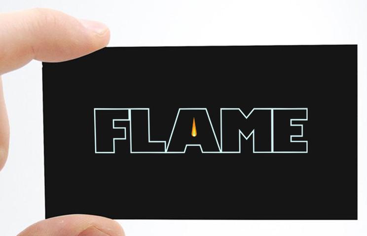 bbq restaurant card mock up