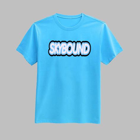 sky bound shirt mockup
