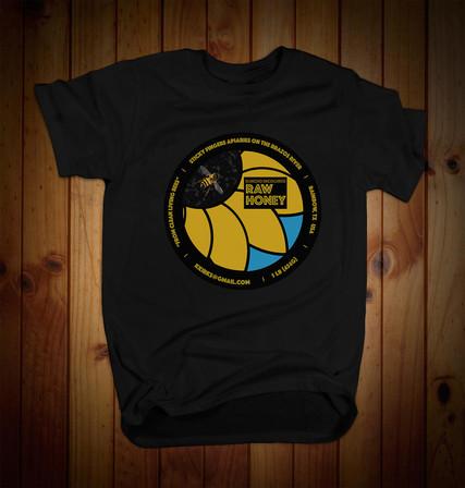 honey shirt mockup