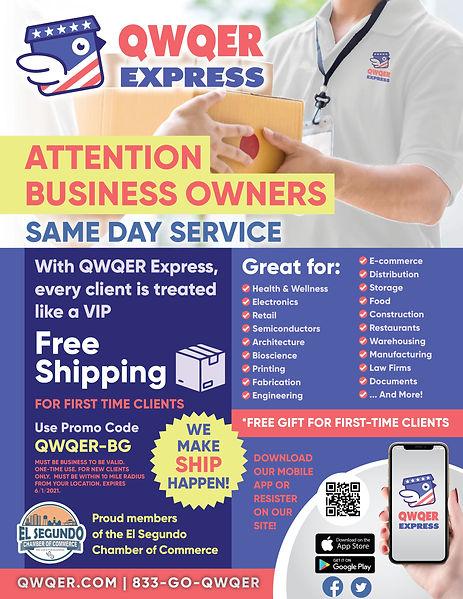 QWQER Express_El Segundo Chamber Flyer_3