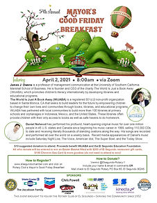 Mayors Good Friday Breakfast 2021 Flyer