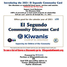 ES Community Discount card  social media