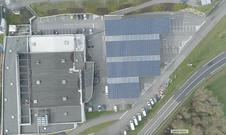 Parking photovoltaïque Bessé sur Braye