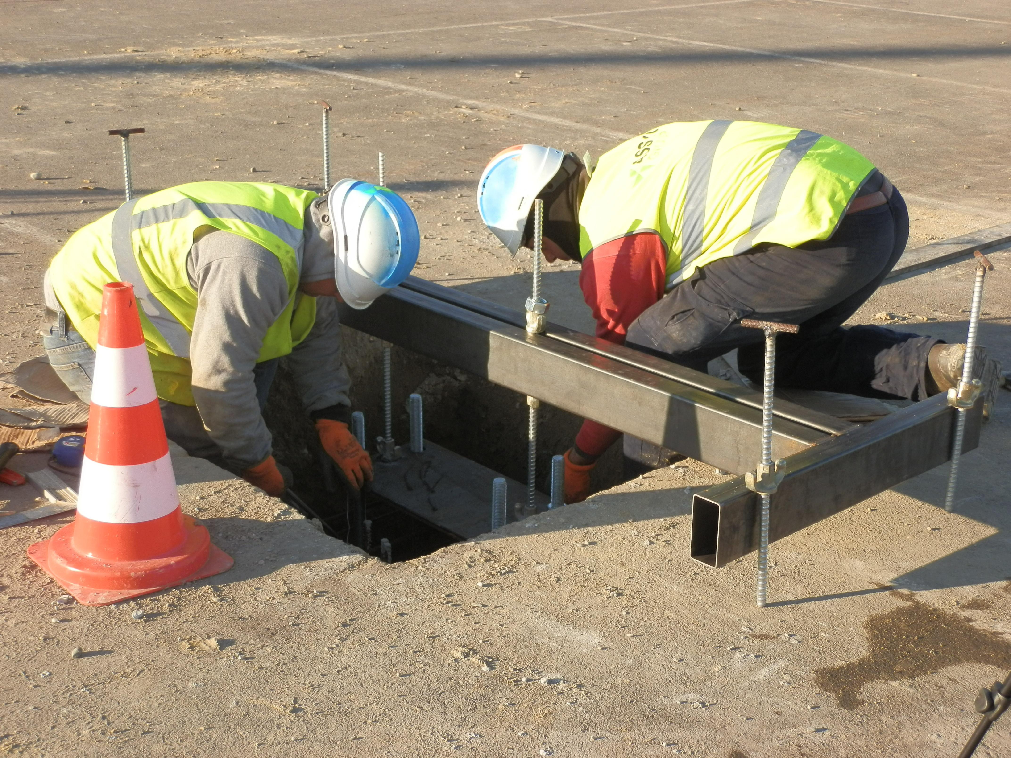 construction ombrière parking