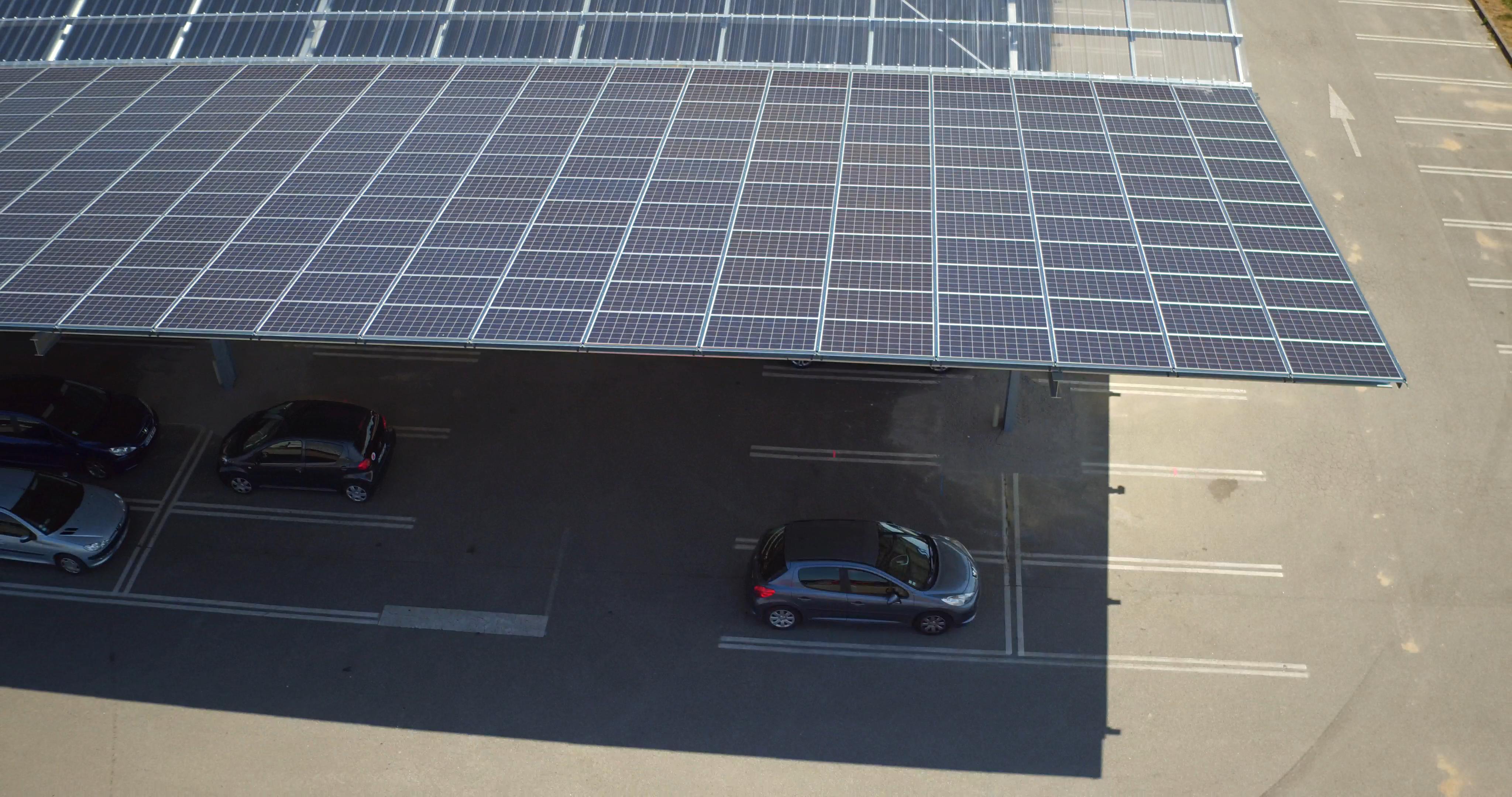 Ombière solaire photovoltaïque