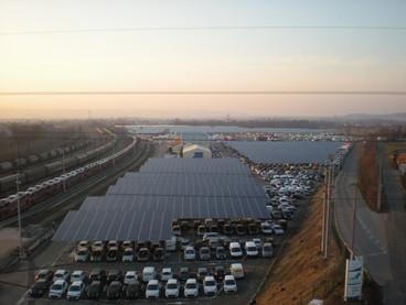 AES Ombrières parking