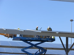 Installation photovoltaïque Triangle