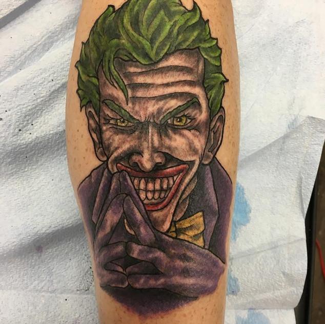The Joker Tattoo