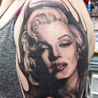 Merilyn Monroe Tattoo