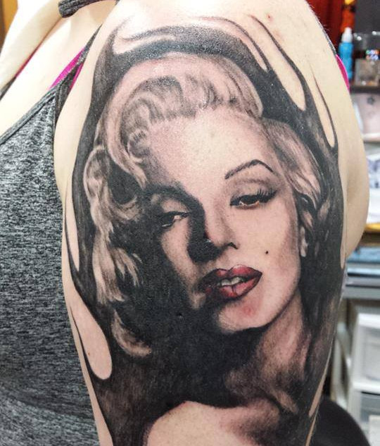 Merilyn Monroe Tattoo