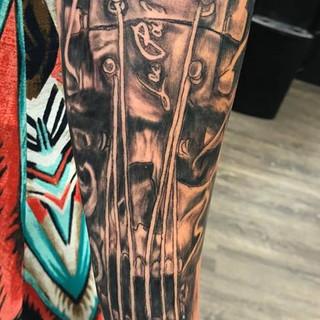 Gibson Guitar/Skull Tattoo