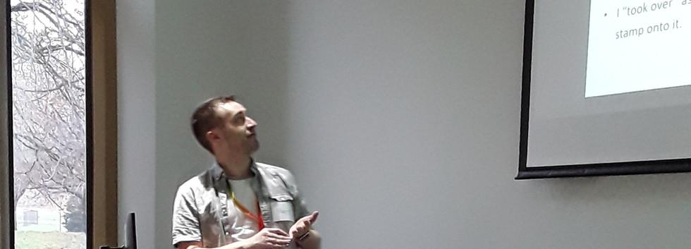 Dr Matt Mears (Sheffield)