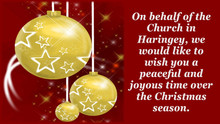 Merry Christmas from Pray Haringey