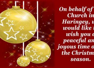 Merry Christmas from Pray Haringey