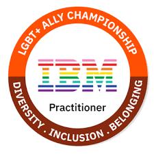 IBM LGBT Ally Badge