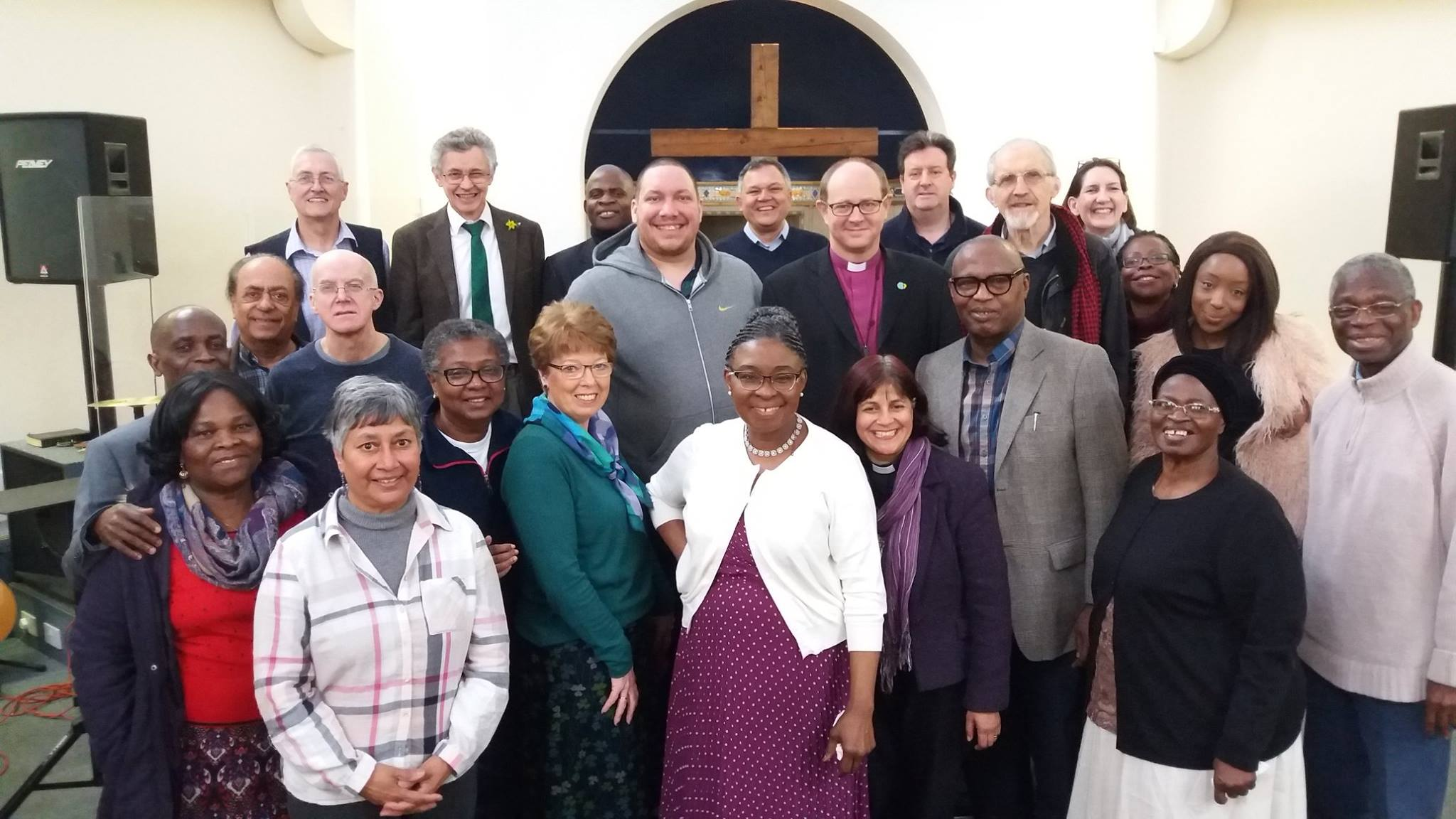Bishop with Haringey Ministers