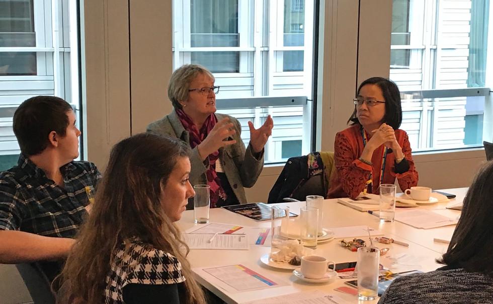 Delegates Discuss