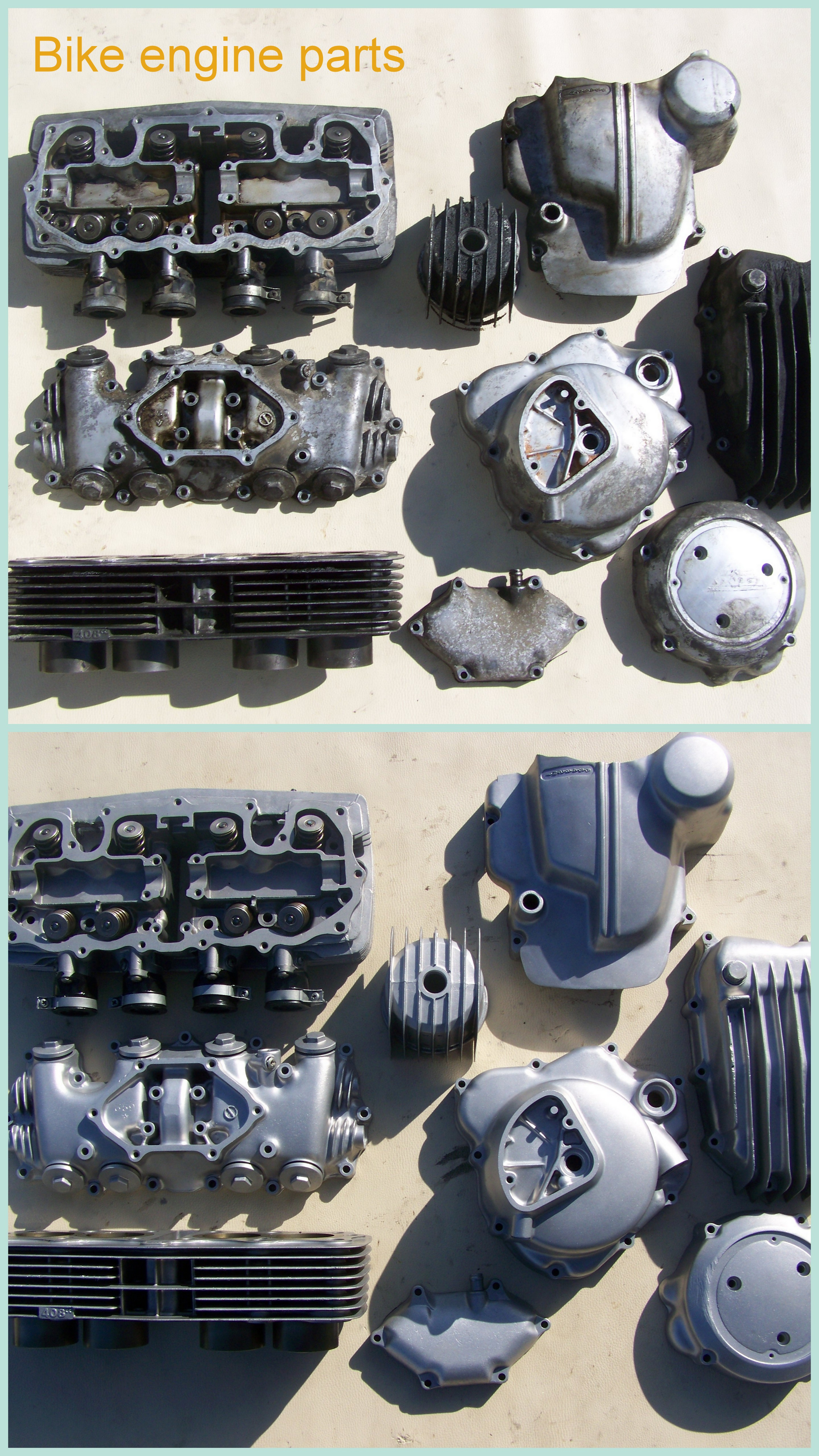 Bike engine parts