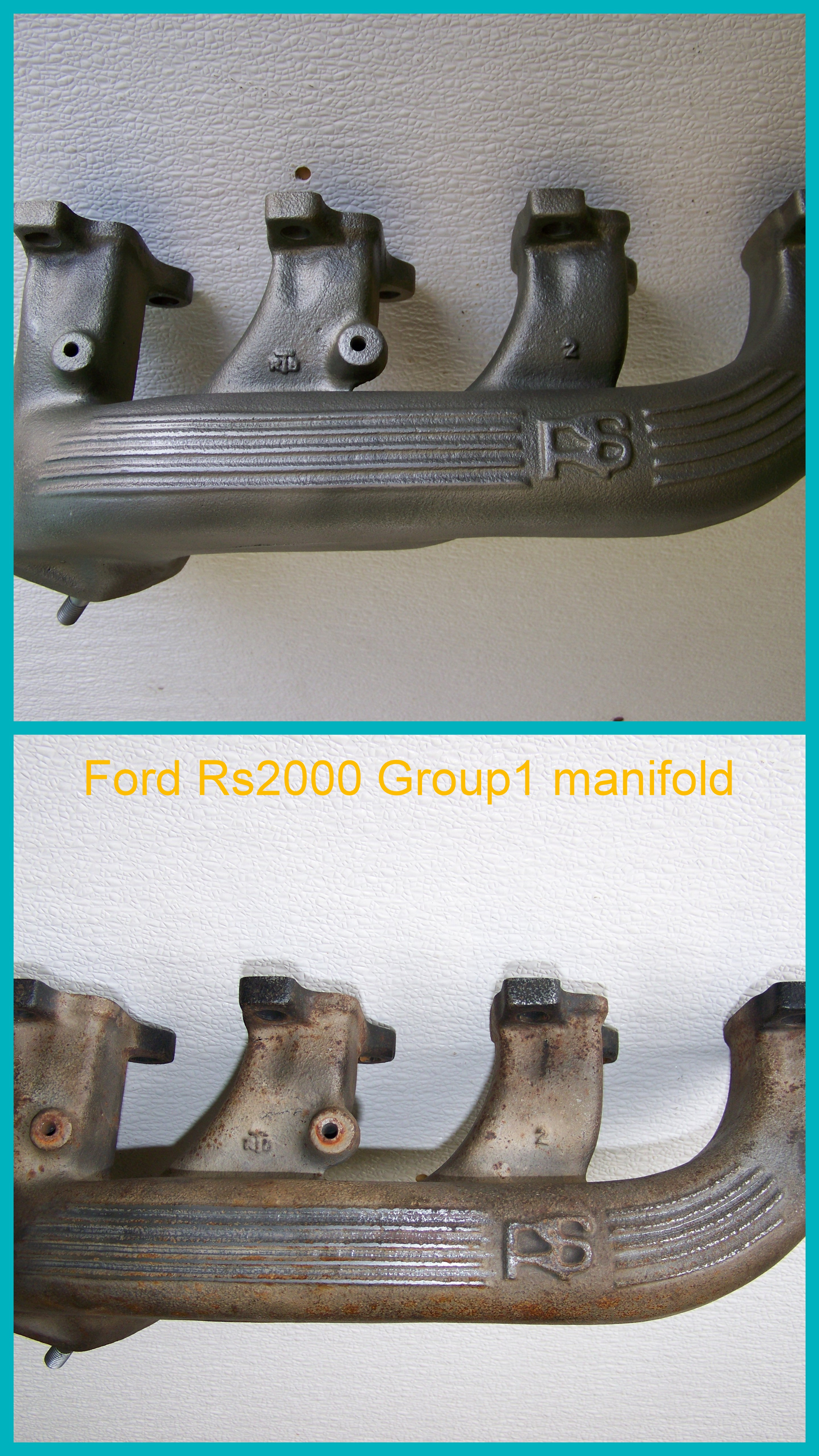 Ford RS200 Group1 manifold