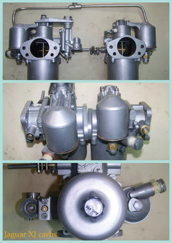 Jaguar XJ carburators