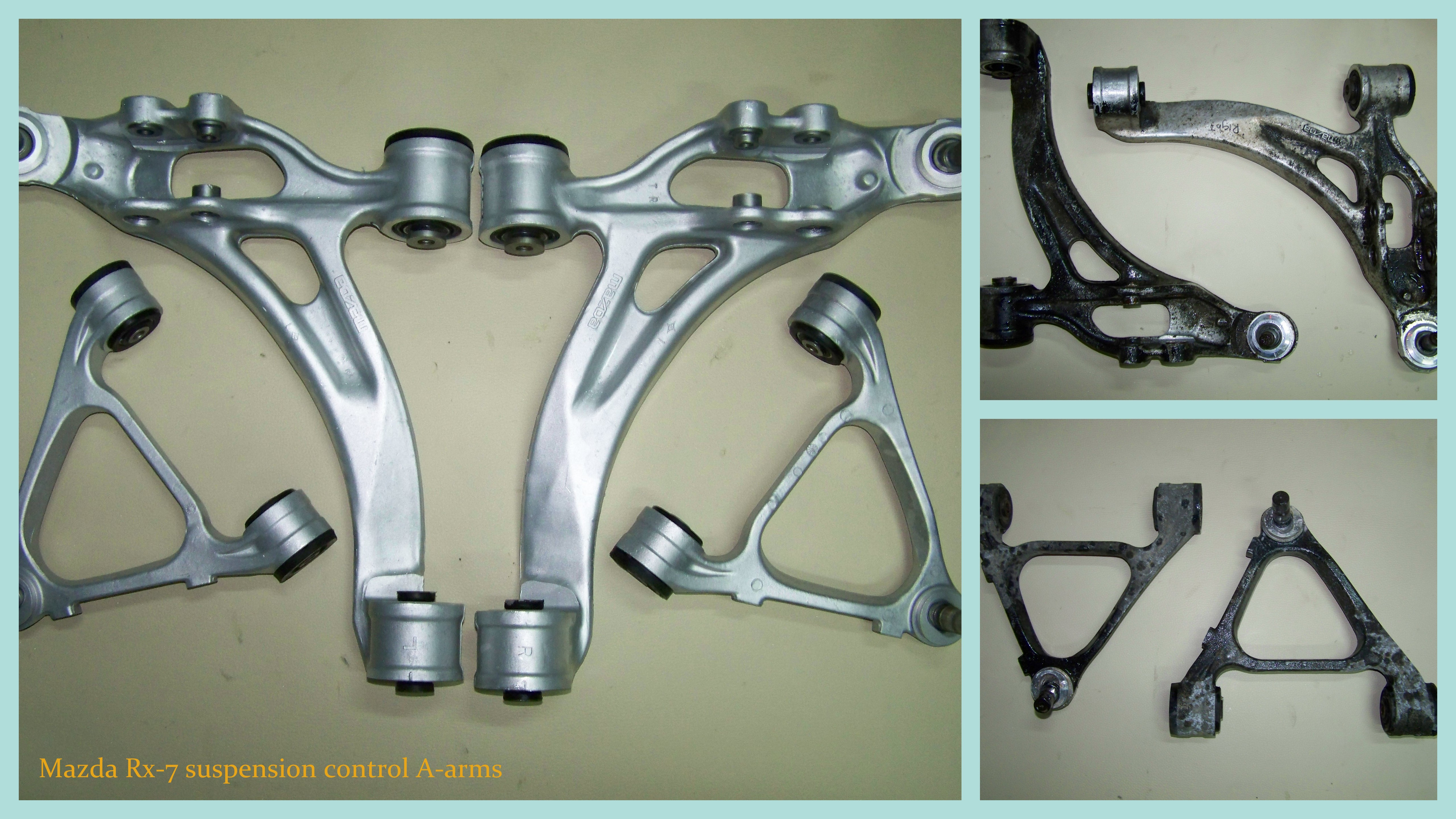 Rx7 suspension arms