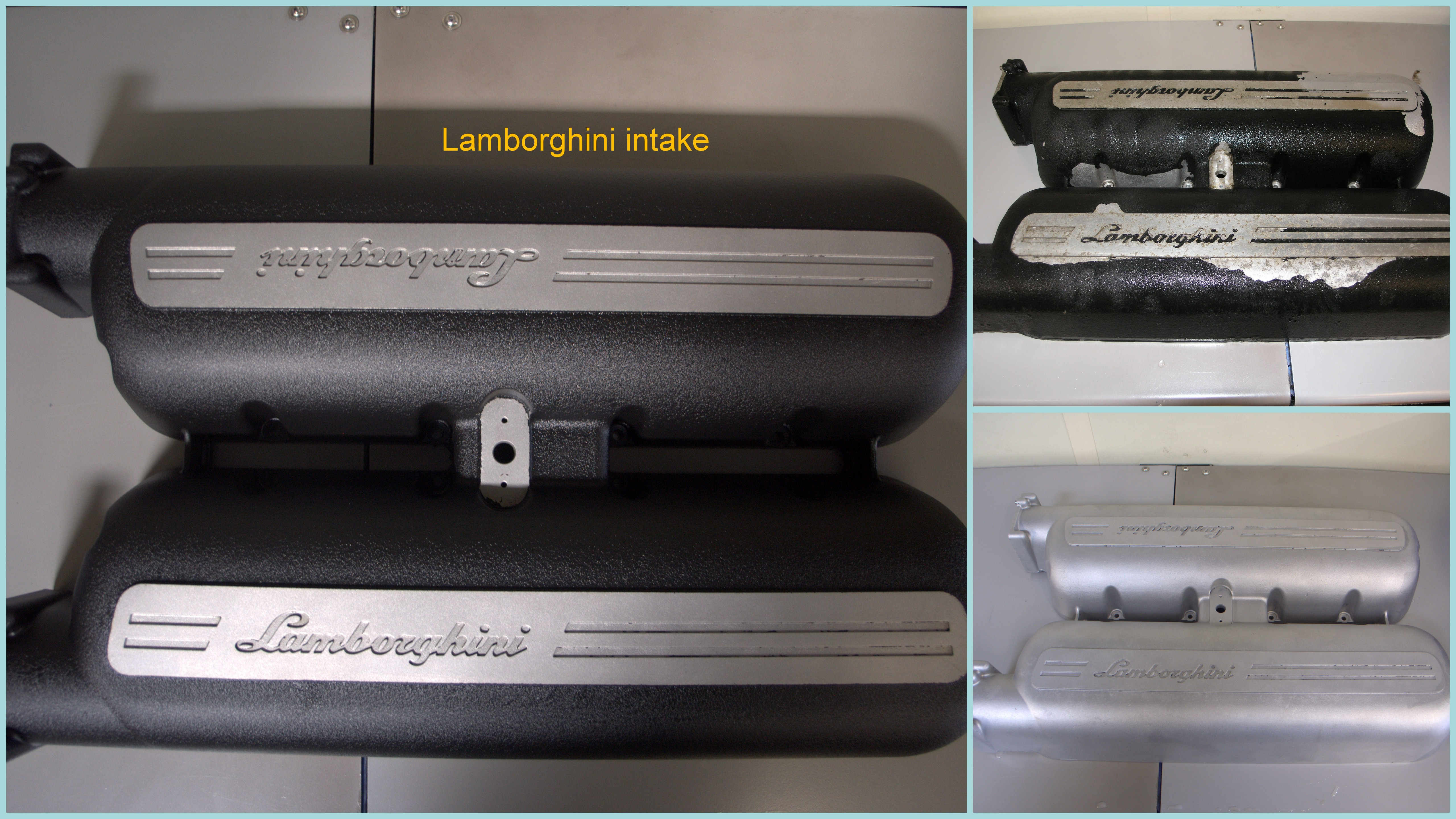 Lamborghini intake