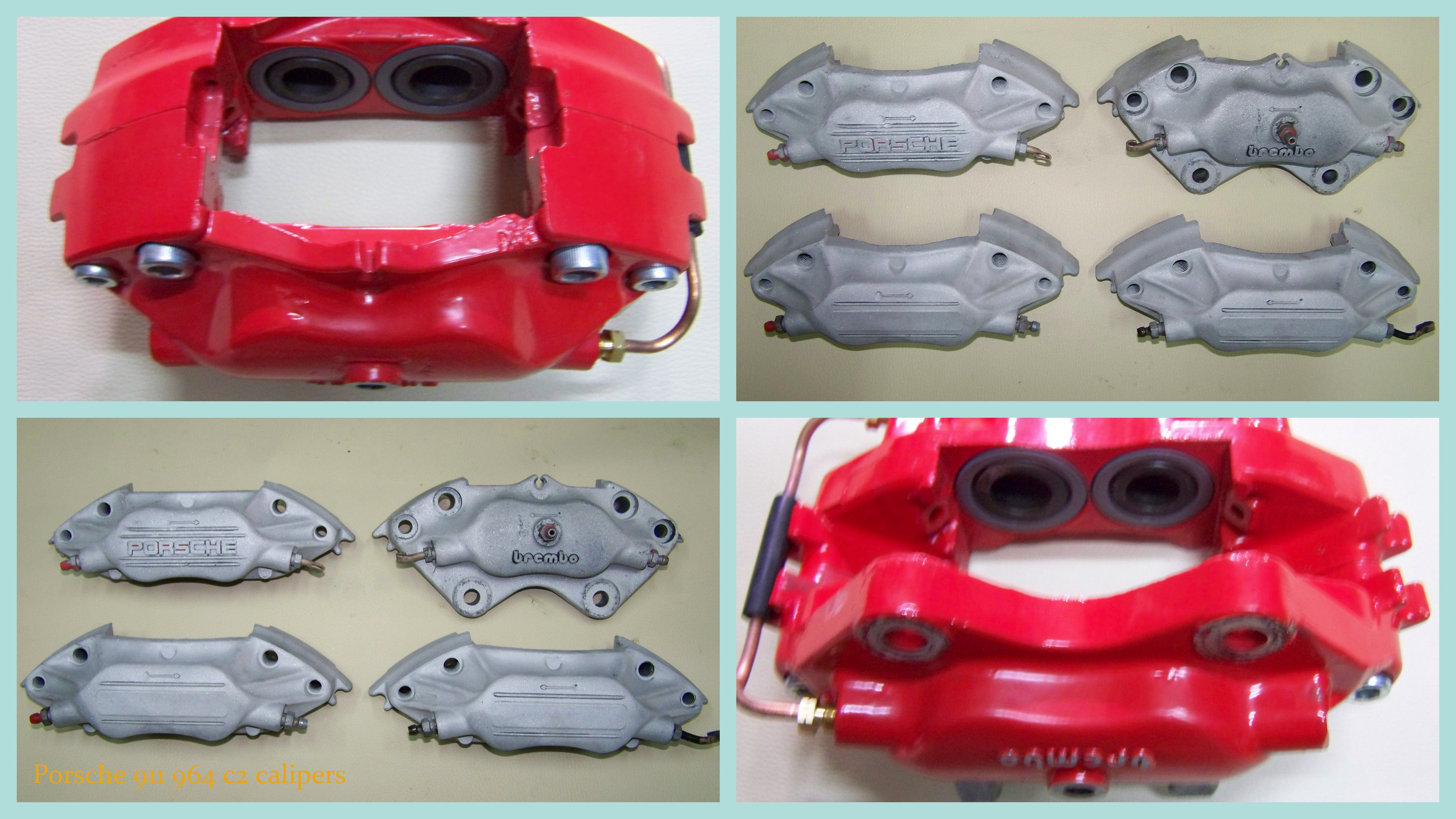 Porsche 911 calipers