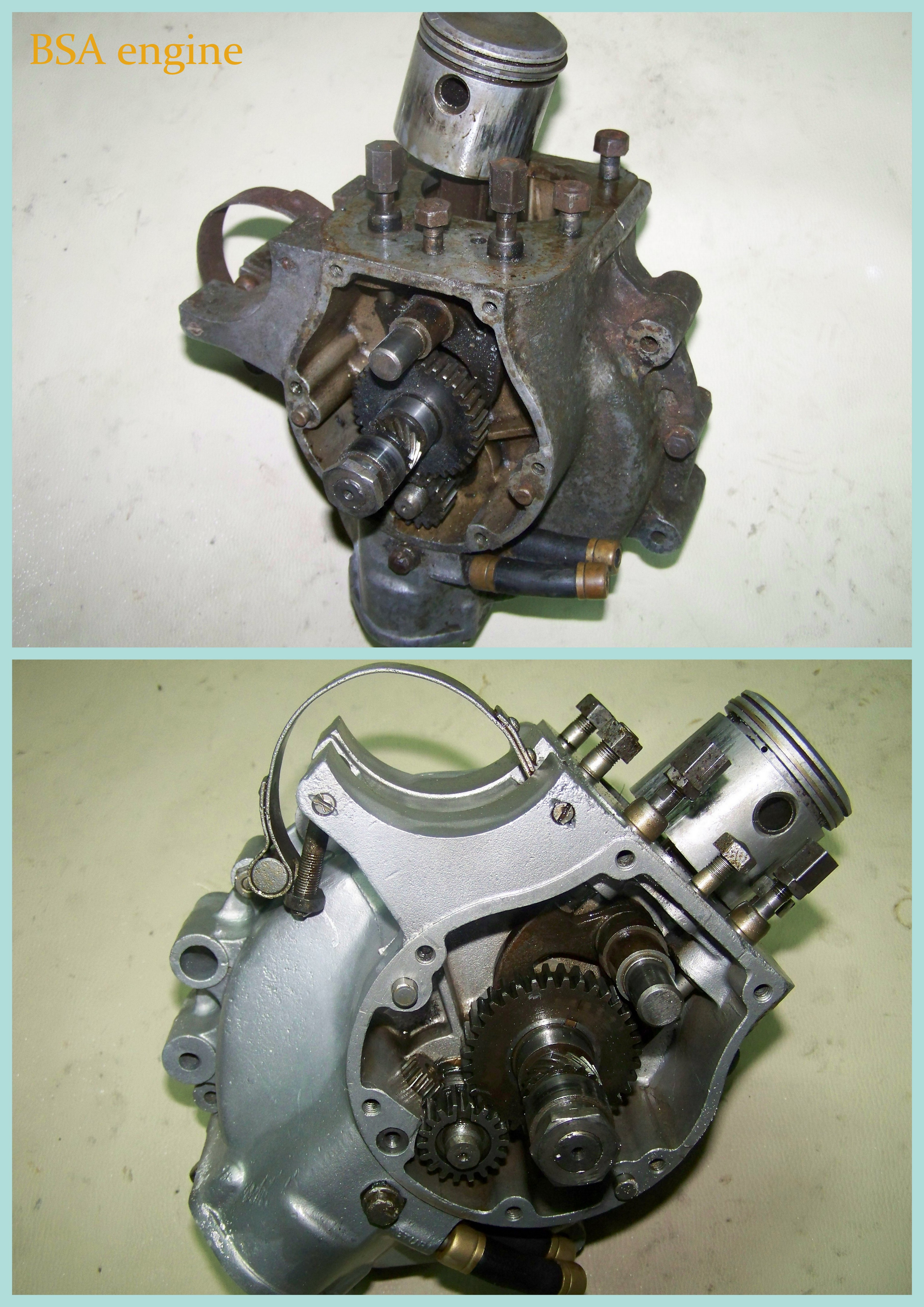 BSA engine