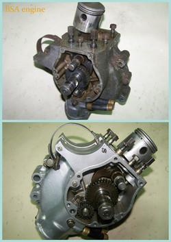 BSA engine