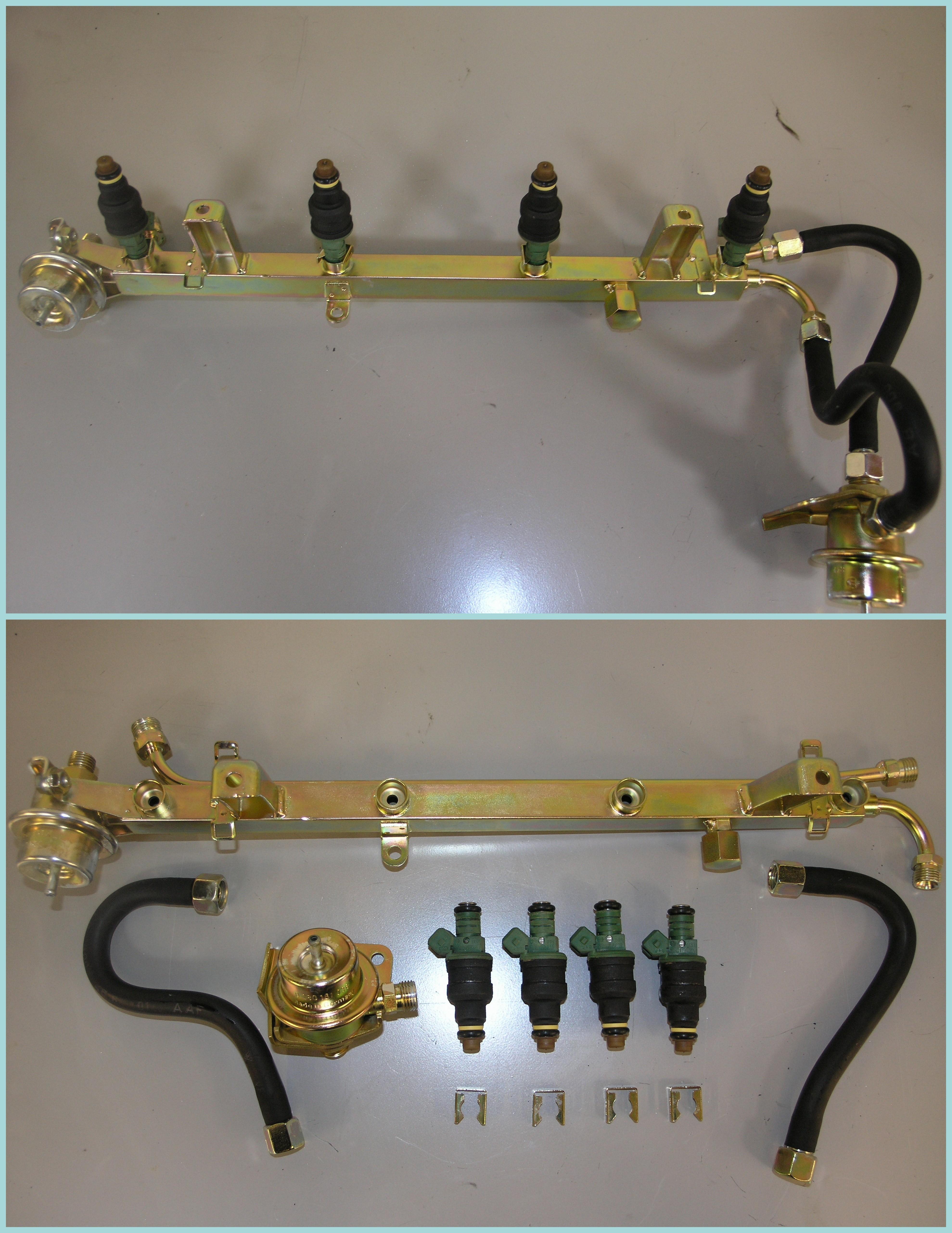 Porsche fuel rail