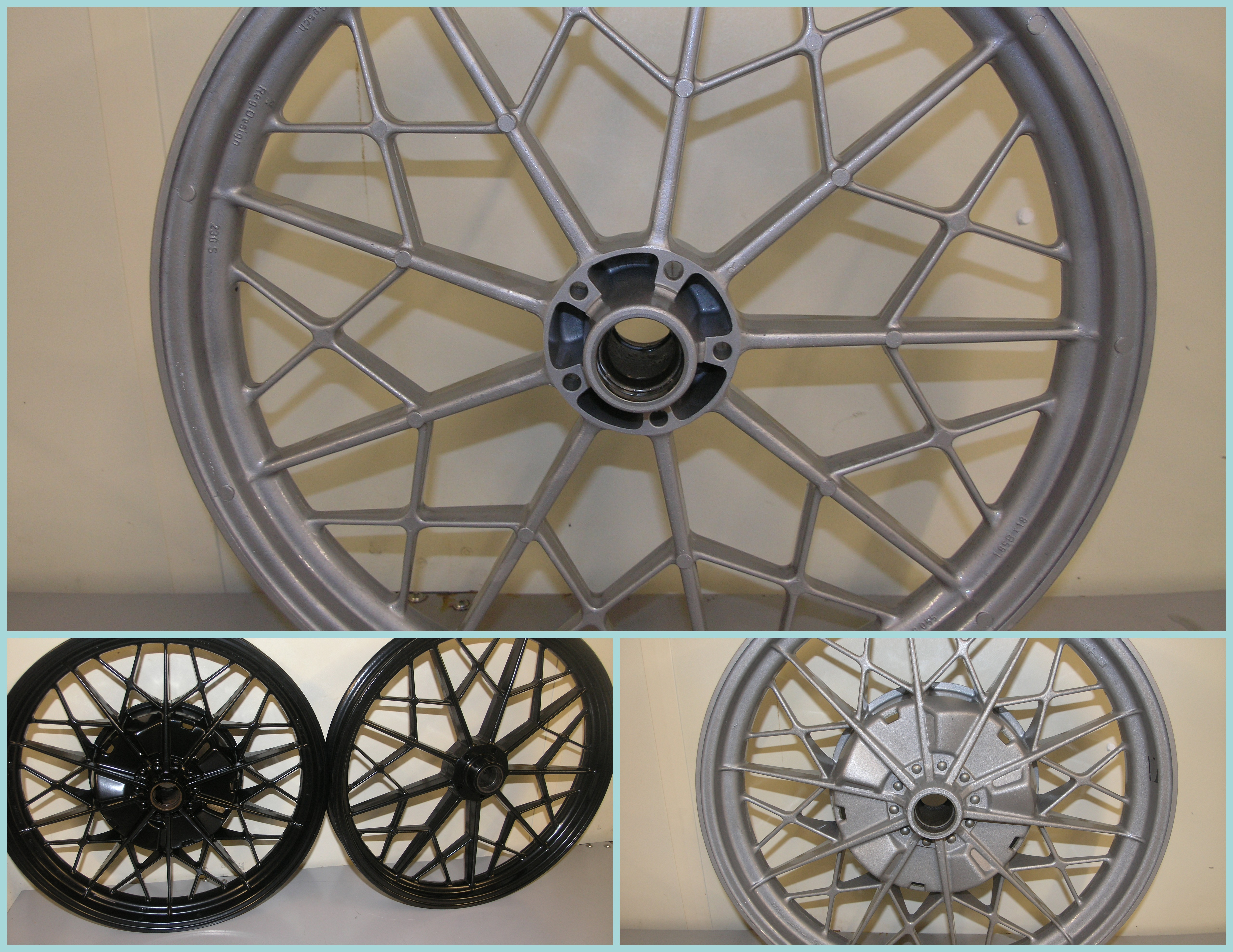 BMW R65  wheels
