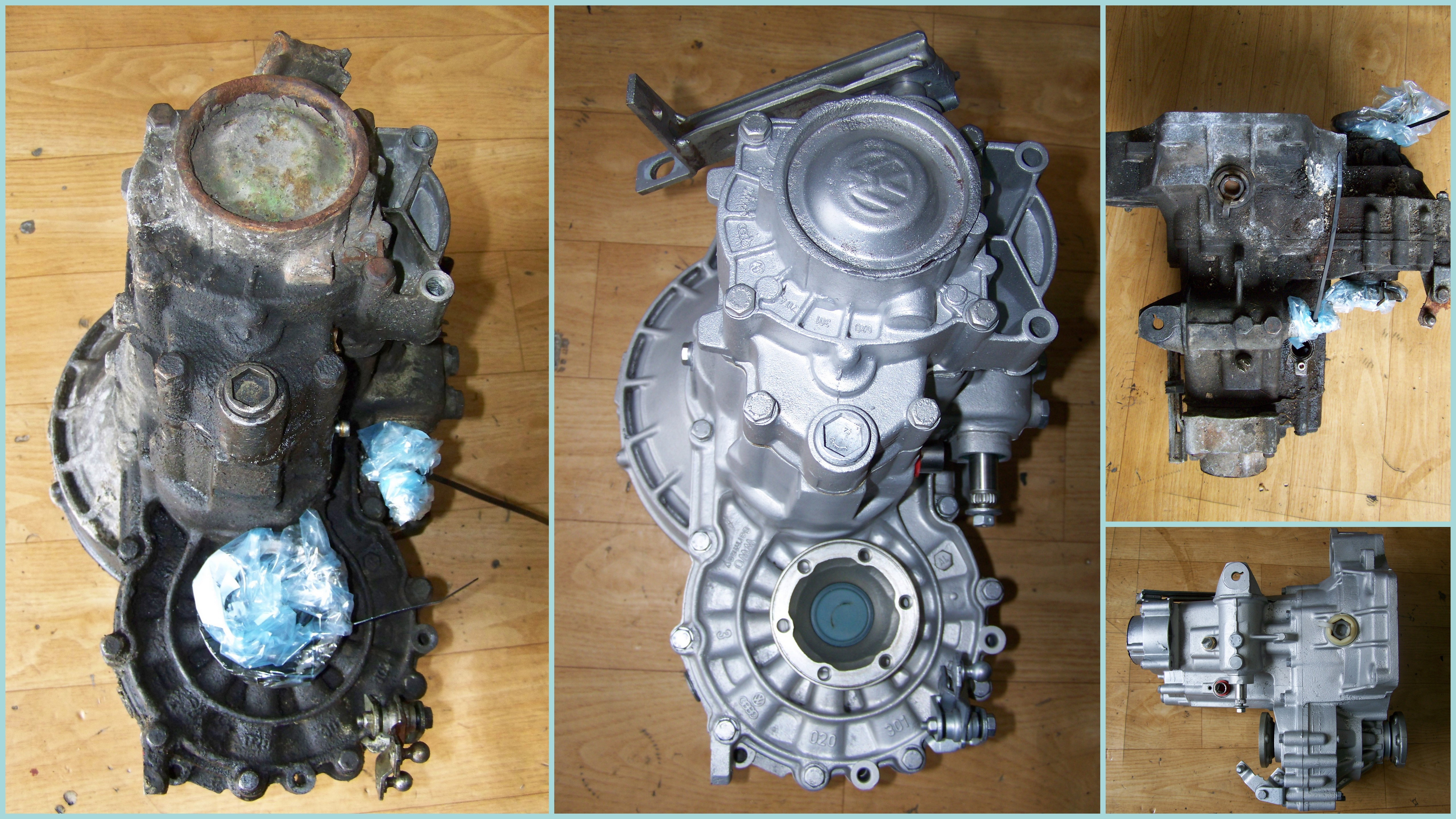 VW gearbox
