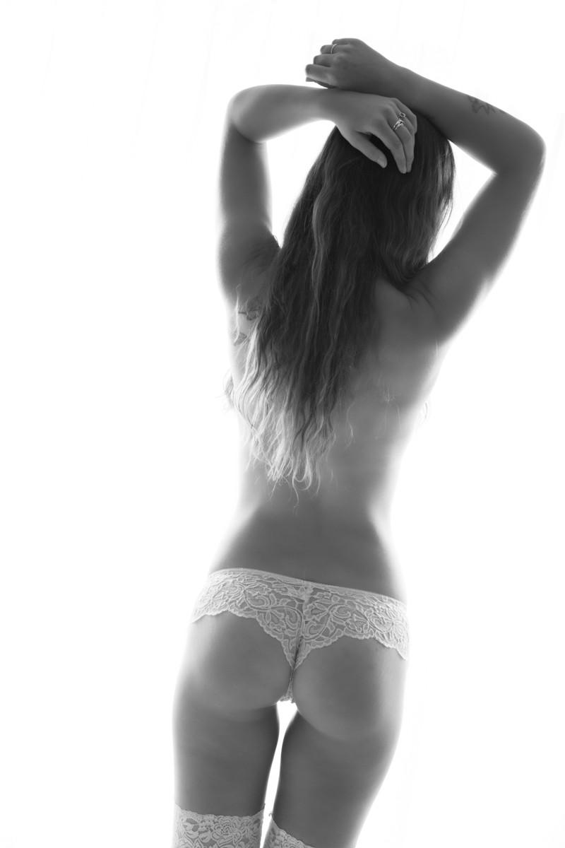 StudioR Boudoir Santa Cruz - with white panties