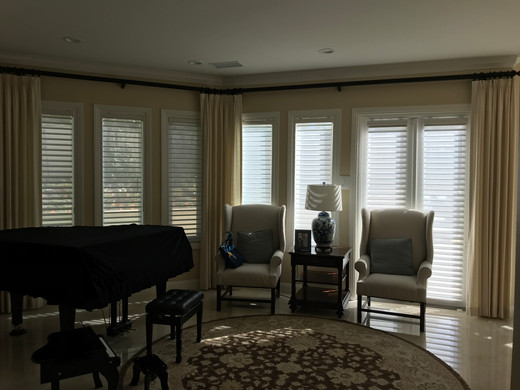 DRAPERY Fan Pleated Panels - Paris Texas