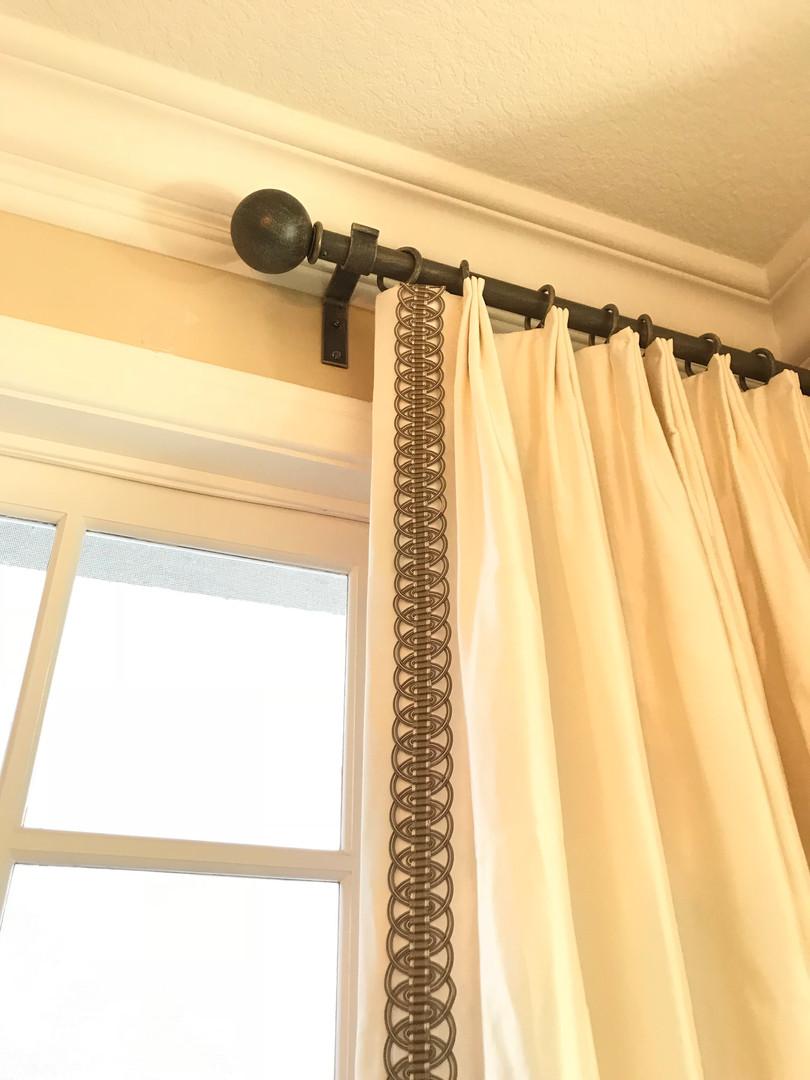 HARDWARE Fan Pleat - Trim Detail - Iron