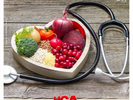 Alimentação e saúde.