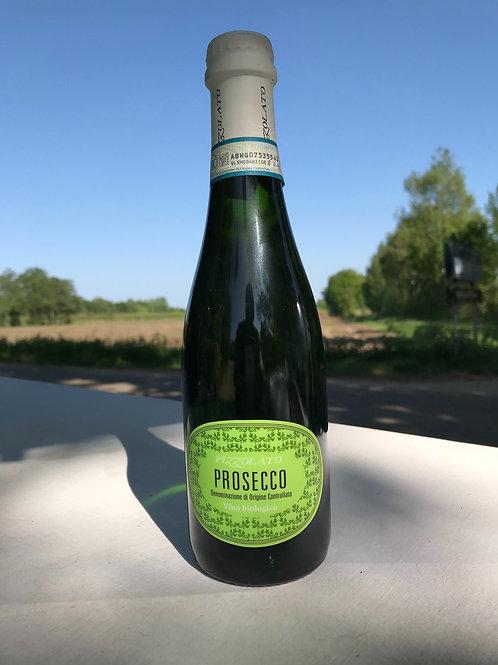 Pizzolato Prosecco Frizzante 375 ml. Heerlijk als aperitief. Vegan