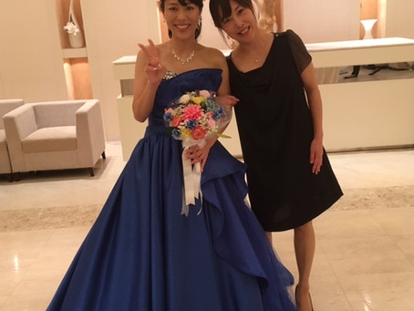 井上さんの結婚式