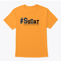 Yellow and Black #SuDat T-shirt