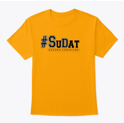 Yellow and Black #SuDat T-shirt