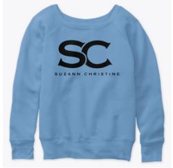 Blue womens sweatshirt