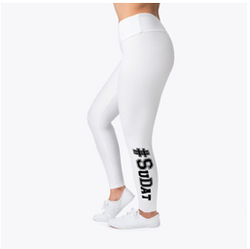 White #SuDat leggings
