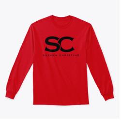 SC Red long-sleeve T-shirt