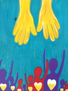 Tes mains sur le monde